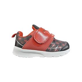Marvel Zapatillas Kids - Deportivo Velcro Spiderman Rojo