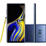 Samsung Galaxy Note 9 128gb Nano Chip Android Tela 6.4 Azul