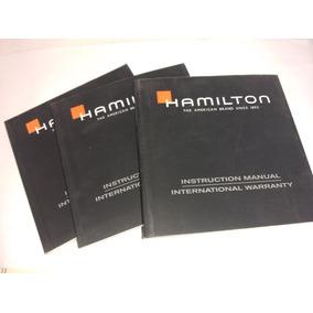 Intructivo Reloj Hamilton
