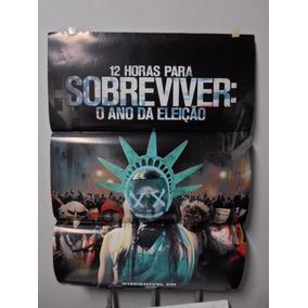 Poster 12 Horas Para Sobreviver - Frete: 8,00
