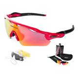 7e039f98b7 Gafas Para Ciclismo Con Formula Y Lentes Intercambiables en Mercado ...