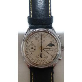 e6242a4d74c Relógio Italiano Cronógrafo A Corda Lorenz Fases Da Lua