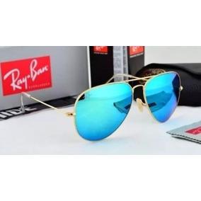 Óculos Rayban Aviador 3025 3026 Espelhado Feminino Masculino ... 84877b0f7b