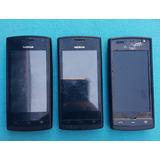 Lote Com 3 Celulares Nokia 500 (leia A Descrição)