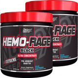 Kit 2 Potes Hemo-rage Nutrex Black Ultra Concen Frete Grátis