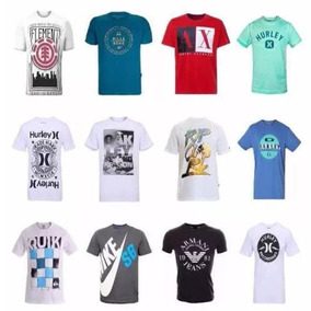 Lote Com 20 Camisetas Replicas Masculinas - Calçados 2d0eec7e9734e
