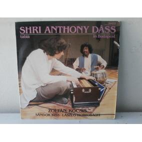 Lp Shri Anthony Dass - Table 1983 - Importado C/encarte