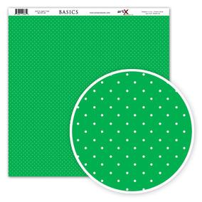 Pacote Folha Scrapbook Verde Bolinha - Acessórios para Scrapbooks no ... bb038839c2b93