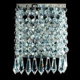 Arandela Quadrada Cristal Ar-124/1 Complementi Iluminação