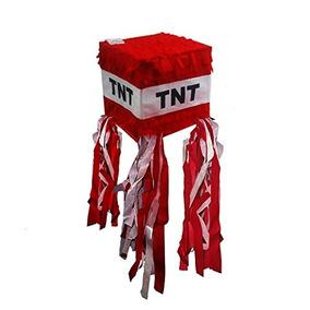 Piñatas Tnt Piñata, Diseño De Para Fiesta De Minecraft, Col