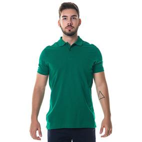 Camisa Polo Masculina Individual Verde 83f3d684136cb