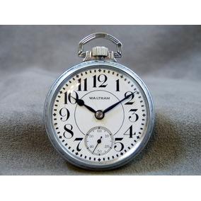 Reloj De Bolsillo Antiguo Marca Waltham Funcionando 1927