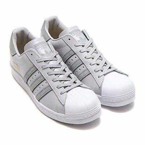 e1182f9bc4a Adidas Superstar Tornasol - Tenis Adidas Gris claro en Mercado Libre ...
