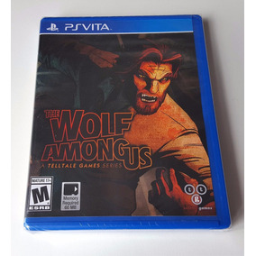 Jogo Ps Vita The Wolf Among Us Sony Original Envio 12,00