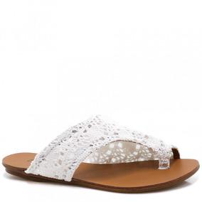 Rasteira Zariff Shoes Renda 230118   Zariff