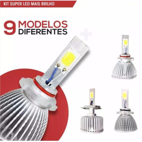 Lampada Farol Milha Superled Xenon Super Led Corsa Gol Celta