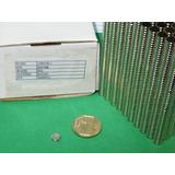 Imanes De Neodimio 8mm X 2mm - 8 Soles X Pack 10 Unidades