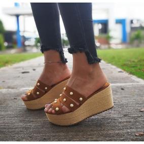 Zapatos Mujer Plataformas Color Cafe - Zapatos en Mercado Libre Colombia 4ee2af0c235b