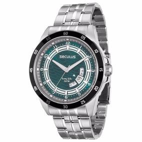 Relógio De Pulso Masculino Seculus 28685g0svna1