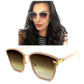 Oculos Feminino Rosa Aviador Degrade De Sol - Óculos no Mercado ... 123c618268