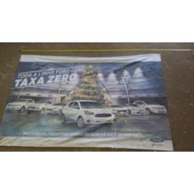 Banner Concessionaria Ford Garagem Placa Decoração Amarela 3