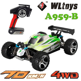 Auto Buggy Rc Radio Control Wltoys A959 Electrico 70km/h