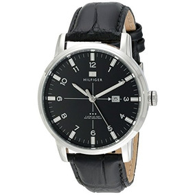 Tommy Hilfiger Mens 1710330 Stainless Steel Watch With Black
