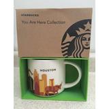 Taza Starbucks Your Are Here Collection Houston Nueva En Cja