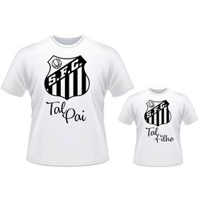 ce4c63e536 Camisa + Body Santos Tal Pai Tal Filho Futebol Time