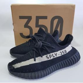 bd0b817dc86 Tãªnis Adidas Yeezy Boost 350 V2 Preto E Branco - Calçados