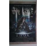 Afiche Cine Orig. 1 X 70 Thor Marvel