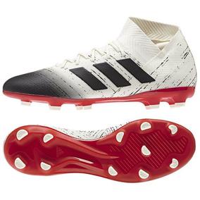 Botas adidas Nemeziz Blanco Negro Taquete Tachon Hombre 2148c9a6c1f99
