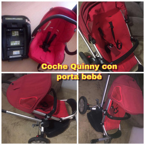 Coche Quinny Rojo