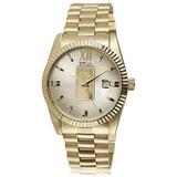 Reloj Para Hombre Daniel Steiger Con Lingotes De Oro De 24q