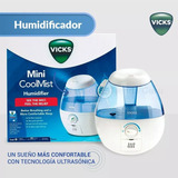 Humidificador Vick Ultrasónico De Vapor Frío 1.8l