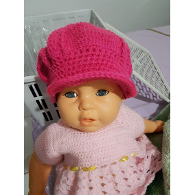 Touca De Croche Unicornios - Boinas para Feminino no Mercado Livre ... d0082cfebb0