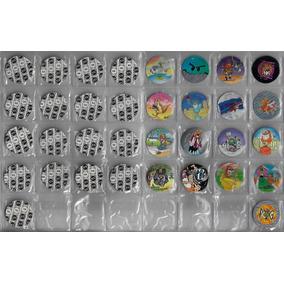 Ano 1996 Lote Com 10 Tazos Da Coleção Pog