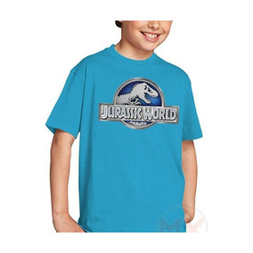Playeras Jurassic World Movie Nuevo