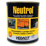 Impermeabilizante Neutrol Tinta Asfáltica 900ml Vedacit