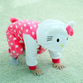 Kigurumi Pijama Bebe Plush Hello Kitty Puntos Importado Usa