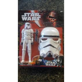 Boneco Star Wars C/29 Cm + Máscara 25 Cm