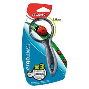 Lupa Junior Maped Aumento 3x 50mm Diam. Sortidas