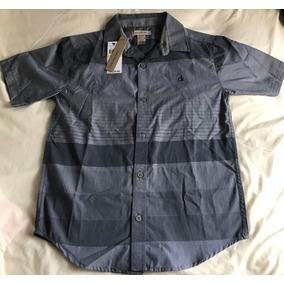 Camisa Calvin Klein Ck Original Masculina 10-12 Anos Menino