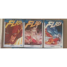 Flash (universo Dc Renascimento) Volumes 1 Ao 3