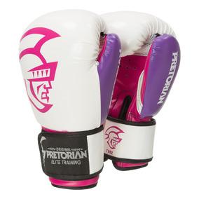 Luva De Boxe/muay Thai Pretorian Elite Training 14oz Rosa