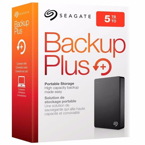 Disco Rígido Externo 5 Tb Usb 3.0 Seagate Backup Plus