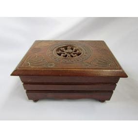 464608429fc Caixa Porta Joias Bretona Lit Clos Madeira Bretanha 15cm