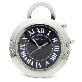 Reloj Cartier Travel O De Bolsillo Original Autentico $9800