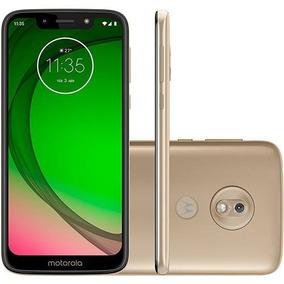 Smartphone Motorola Moto G7 Play 32gb 2gb 5.7 13mp 8mp Ouro