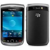 Celular Blackberry Torch 9800 Single 3g 5mp Preto Vitrine 3